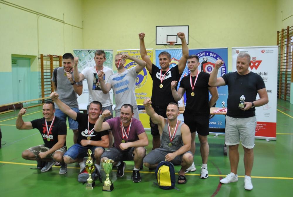Turniej Piłki Nożnej IPA pod patronatem PKZP KKOP przy KWP w Poznaniu